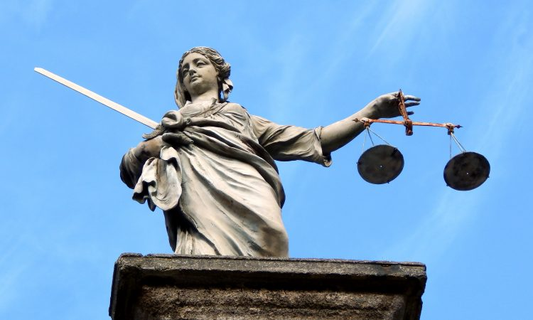 The legal justice system scales