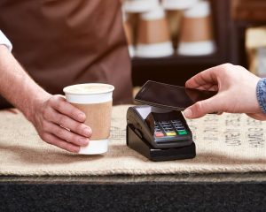 EPOS system receiving payment transaction