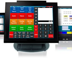 CES Touch being used on tills